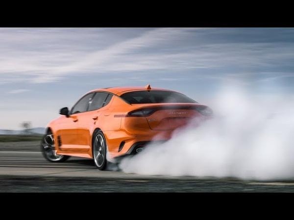 Kia Stinger GTS 2020 — динамика, статика, интерьер