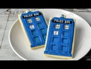 DR WHO TARDIS COOKIES HANIELA'S