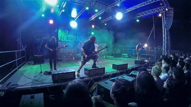 Destrage - My Green Neighbour Live @ Parco Tittoni, Desio