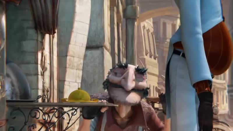 Jamie Berry Sweet Rascal 3D Animated Parigot