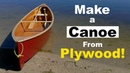 Can You Make a Canoe from Plywood? DIY Quick Canoe. Plywood Cheap Canoe Build