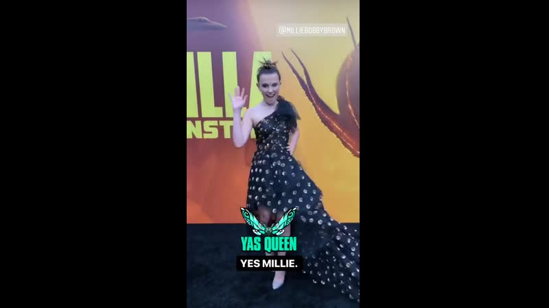 Millie Bobby Brown at Godzilla: King of the Monsters Premiere in LA