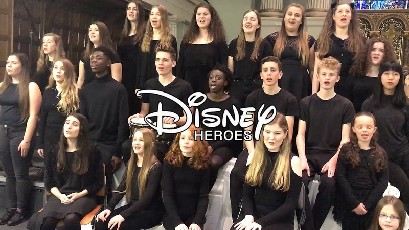 DISNEY HEROES MEDLEY (live) ft. Moana, Lion King, Frozen more | Spirit Young Performers Company