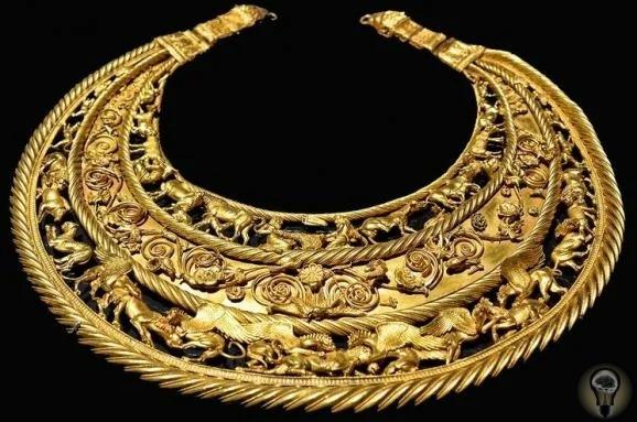 Скифская пектораль - о древнем артефакте, найденном на территории Днепропетровской области Скифы удивительный народ, оставивший после себя множество артефактов и золотых украшений. Причем часть