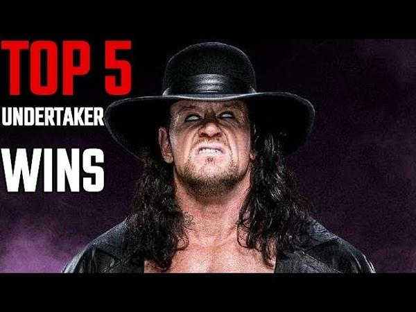 WWE TOP 5 UNDERTAKER BIGGEST WINS - ITN