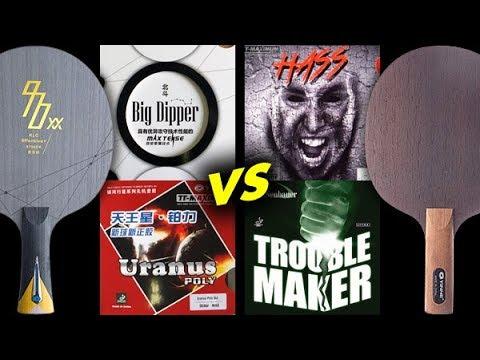 Trouble Maker OX Hass 2.1 VS Uranus Poly 2.0 and Big Dipper Spin - тест в игре на счет