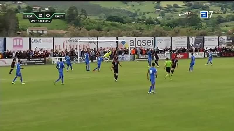 CD Леальтад Вильявисьоса Хетафе CF B 2 0 Терсера 2018 2019 чемпионский плей офф 1 матч