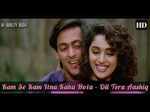 Kam Se Kam Itna Kaha Hota Song Dil Tera Aashiq 1993 Full Video Song HD