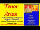 TENOR ARIAS from Pagliaccio, L Arlesiana and Turandot Santa Barbara, Ca July, 1 2019