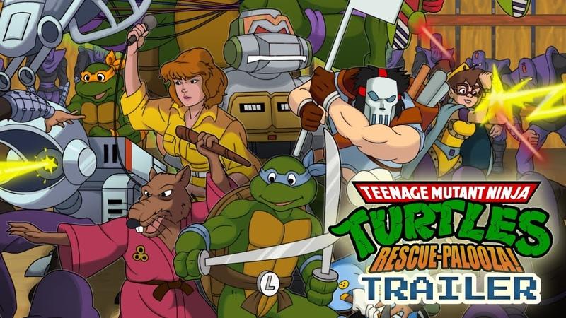 Вышла Teenage Mutant Ninja Turtles: Rescue-Palooza! —