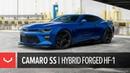 Chevrolet Camaro SS Vossen Hybrid Forged HF 1 Wheels in Gloss Black