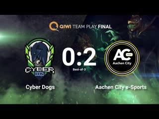 Cyber dogs vs aachen city
