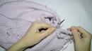 Часть 1 Джемпер кофта спицами Реглан снизу с ростком и подрезами Мастер класс Вязание сп