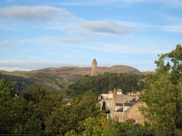 Стерлинг, Шотландия. Монумент Уоллеса.