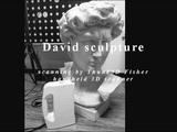 David sculpture scanning by Thunk3D Fisher handheld 3D scanner