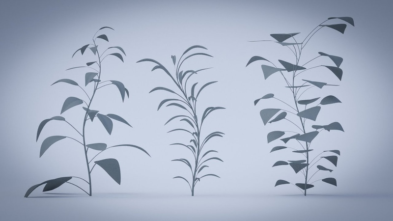 Blender 2 8 modular plant creation with modifiers