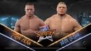WWE 2K18 - John Cena vs Brock Lesnar - Gameplay