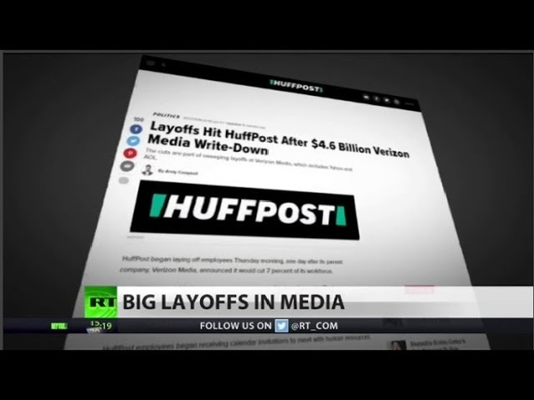 HuffPost, BuzzFeed to lay off hundreds of people