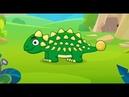 Динозавры мультики - ПАЗЛ про ДИНОЗАВРИКОВ - видео для детей