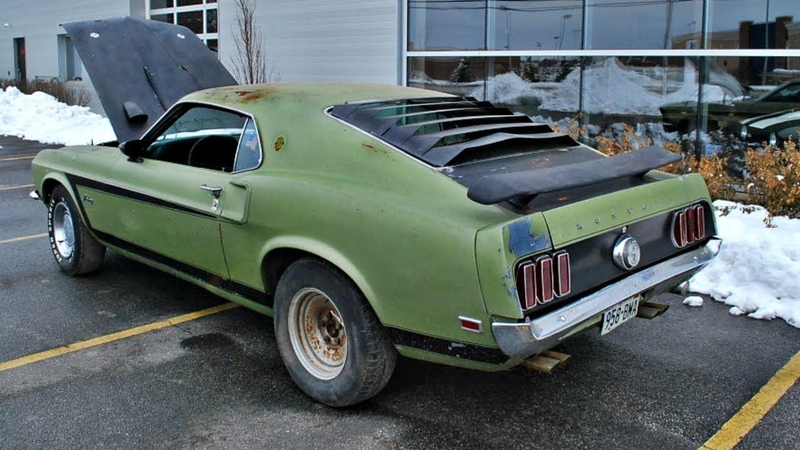 Widebody Mach 1 Project - 1969 Ford Mustang Restoration
