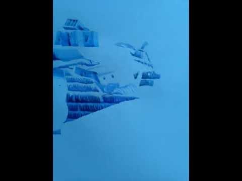 Titanic Wreck. Aquarelle