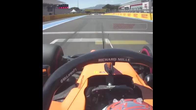France 2019 McLaren qualify P5 and P6