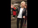 Диана Арбенина съемки клипа Рингтоном
