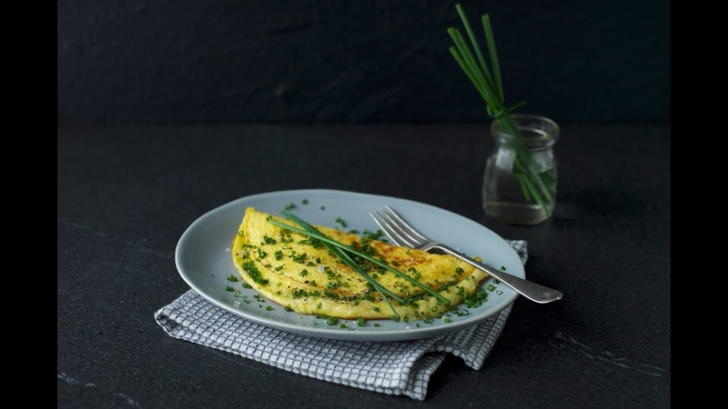 Cheese Chive Omelet