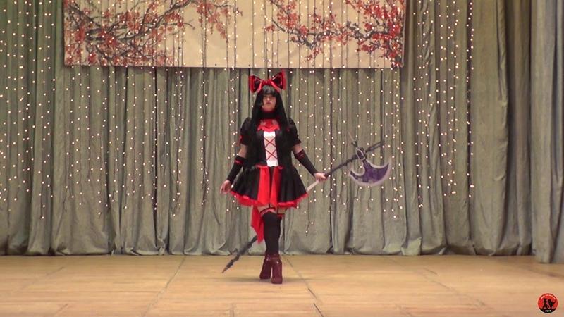 Rory Mercury (Gate Jieitai Kanochi nite, Kaku Tatekaeri) (Одиночное дефиле) - Haru no matata 2019