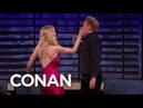 Sophie Turner & Conan Play Tequila Slaps - CONAN on TBS