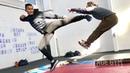 Тони Джа реальный бой и сцены из боевиков / Основы тайского бокса от Онг Бак