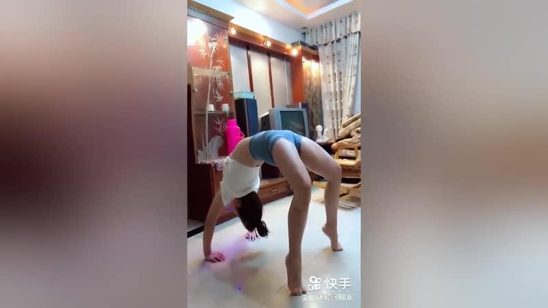 Asian Gymnastics Flexible Yoga Girls Contortionist Splits Stretch 2018