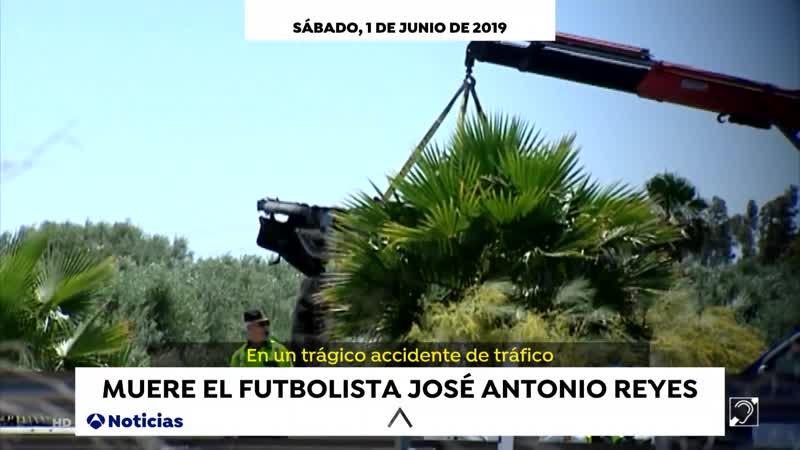 Antena 3 Noticias noche S 01 06 19 muerte futbolista Reyes Hemeroteca final Champions pactos Navarra FHD vlc record