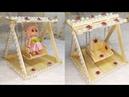 25) Ide Kreatif - Cara Membuat Ayunan Dari Stik Es Krim    Caranya sangat Mudah