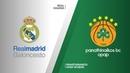 Real Madrid - Panathinaikos OPAP Athens Highlights   Turkish Airlines EuroLeague PO Game 2. Евролига, второй матч плей-офф. Обзор. Реал - Панатинаикос