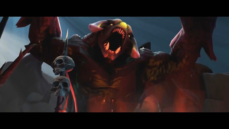 True Sight The International 2018 Finals - ALL SFM Gameplay Scenes - Dota 2