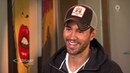 Enrique Iglesias Talks With German TV Show Brisant
