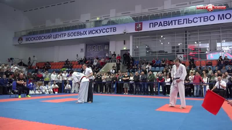 Andrei Luzin vs. Ilya Karpenko. Russian Cup 2019