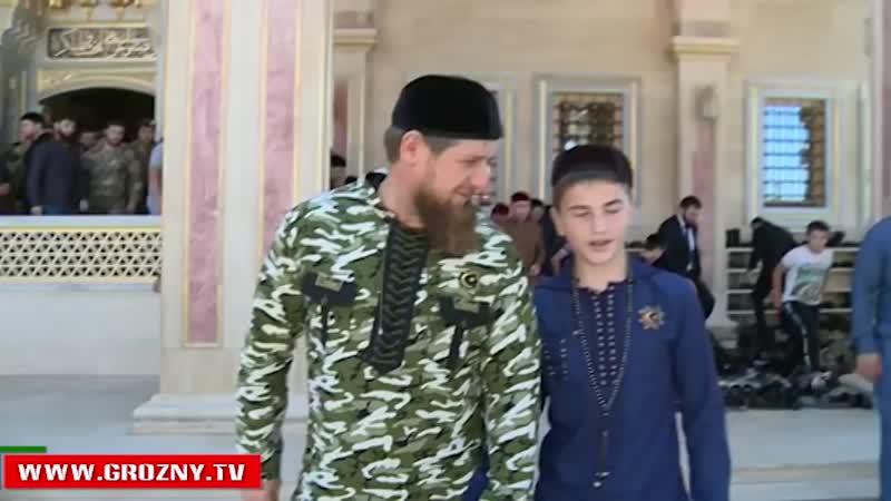Рамзан Кадыров принял в гостях незрячего мальчика Билала Сайд Целимова 720 X 1280 mp4