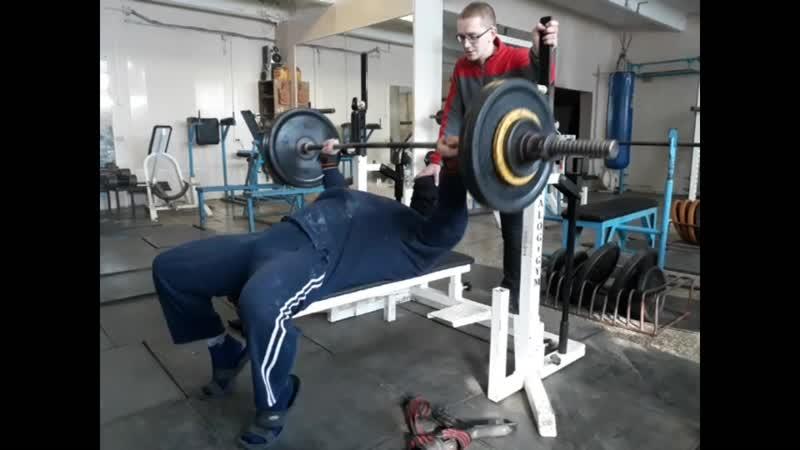 КРЖ 100 кг на 35 раз КА 34 КМС КА 36 Собств вес 103 кг