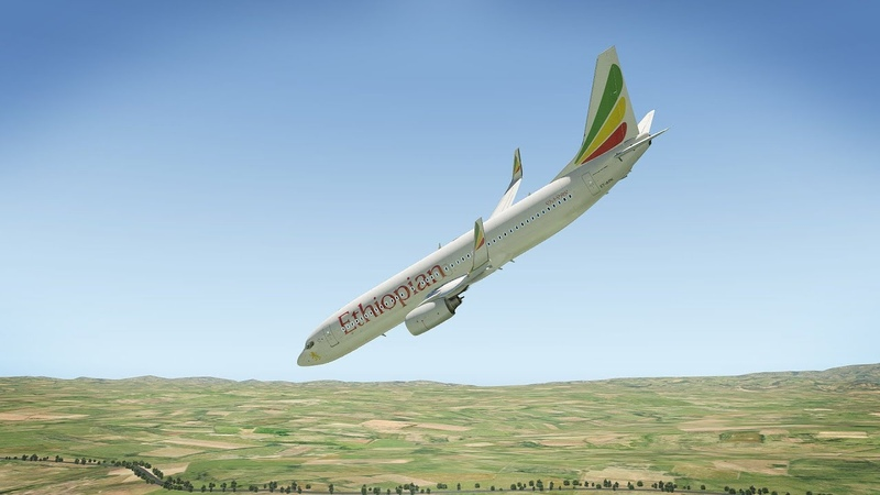 Ethiopian Airlines B737 Crashes After Takeoff Ethiopia Airlines Flight ET302 | X-Plane 11