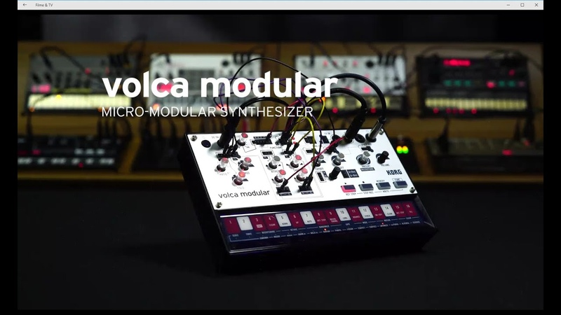 KORG volca modular - Micro modularer Synthesizer - All Playing No Talking - Official video