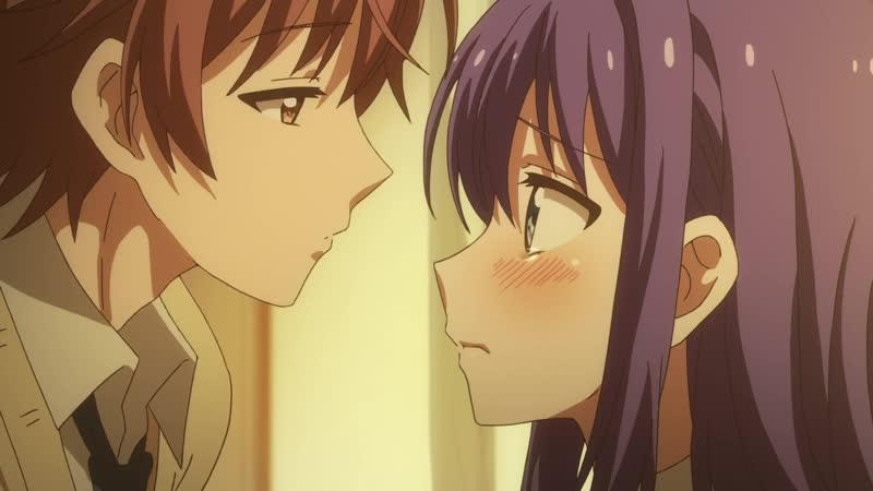 Похотливая Ао не может учиться Midara na Ao chan wa Benkyou ga Dekinai 12 серия
