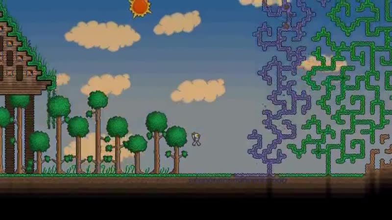 Terraria - Playing With Dirt