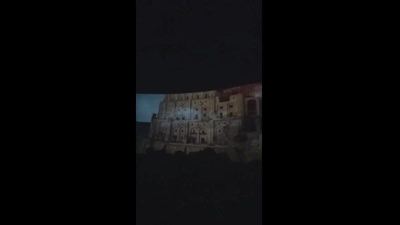 Интерактивная выставка Босх, Брейгель, Бэнкси 25.05.2019 Люмьер-холл часть 3