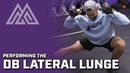 Performing the Dumbbell Lateral Lunge