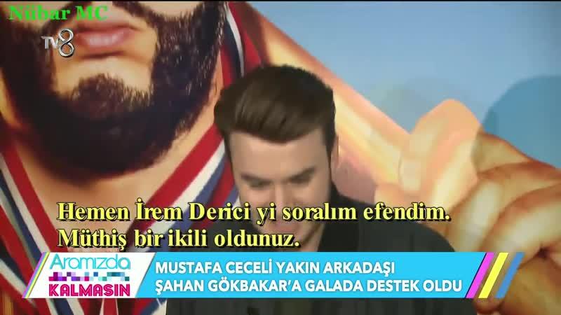 Mustafa Ceceli Recep İvedik 5 Galasında (TV8Aramızda Kalmasın - 14.02.2017)