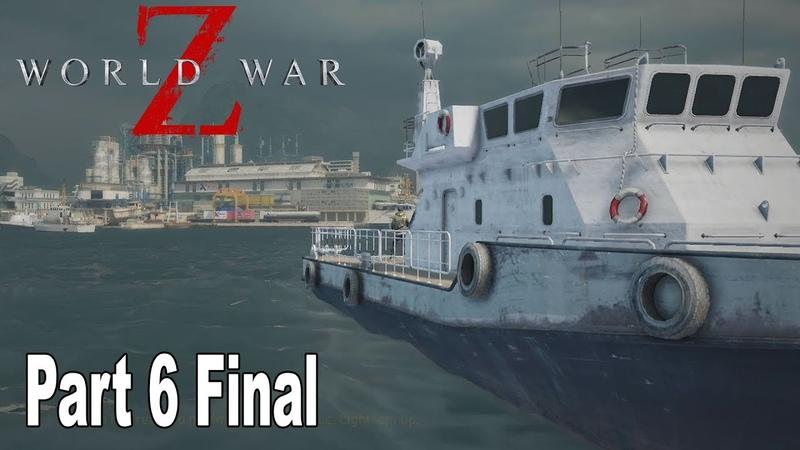 World War Z - Walkthrough Part 6 Final No Commentary Tokyo [HD 1080P]