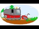 Zeichentrick Malbuch Die ungewöhnlichen Traktoren Teil 2