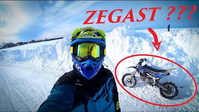 My winter with PITBIKE replica Zegast ZONGSHEN 190 CC